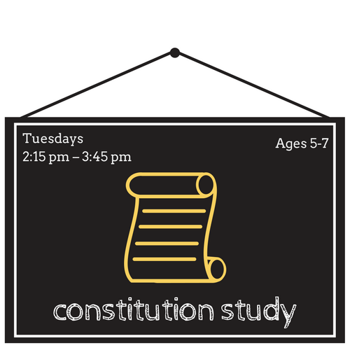 """""""We the People"""" Constitution Study"""