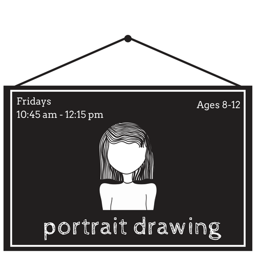 Art Centric Portrait Drawing Class