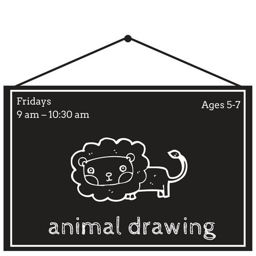 Art Centric Animal Drawing Class