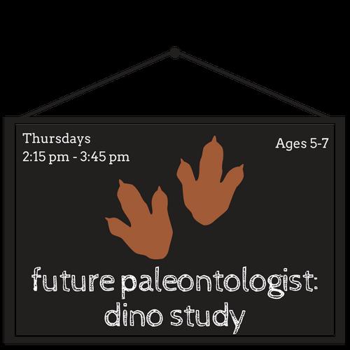 Future Paleontologist: Dino Study