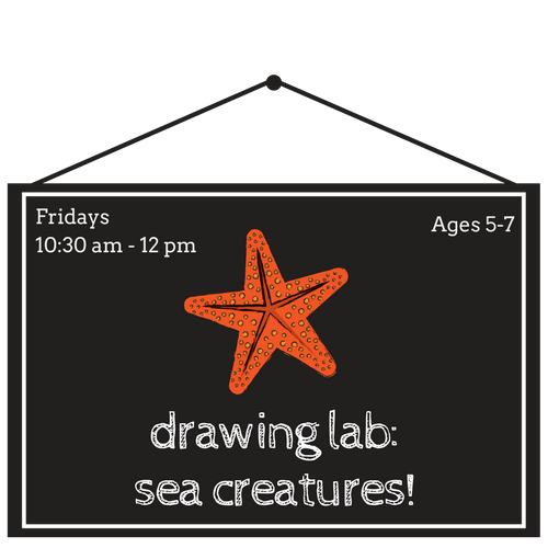 Drawing Lab: Sea Creatures!