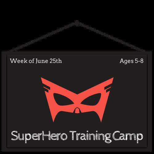 Superhero Training Half Day Camp