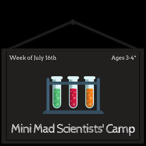 Mini Mad Scientists Camp