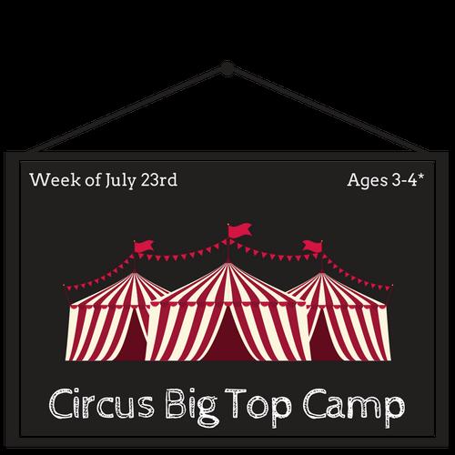 Circus Big Top Camp