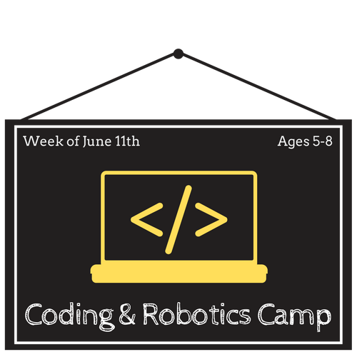 Coding & Robotics Jr. Half Day Camp