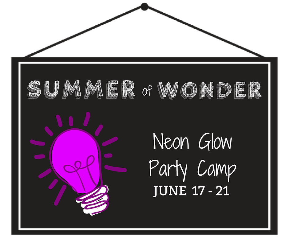 Neon Glow Party Camp