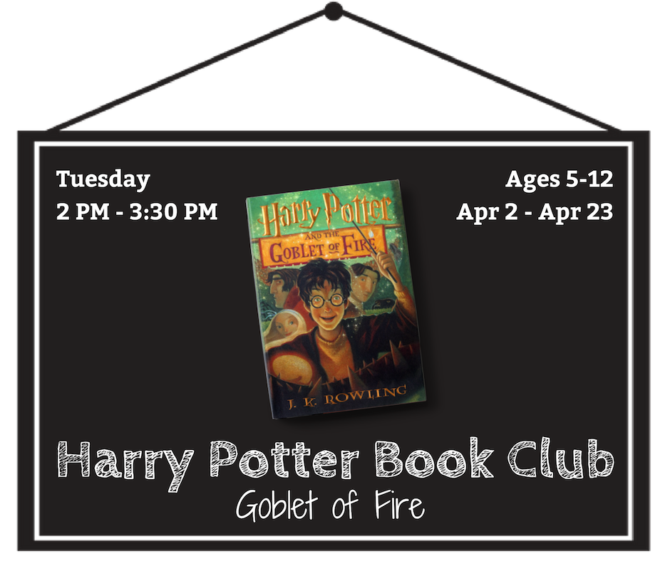 Harry Potter Book Club: The Goblet of Fire