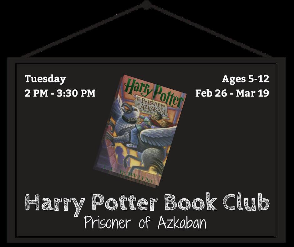 Harry Potter Book Club: The Prisoner of Azkaban