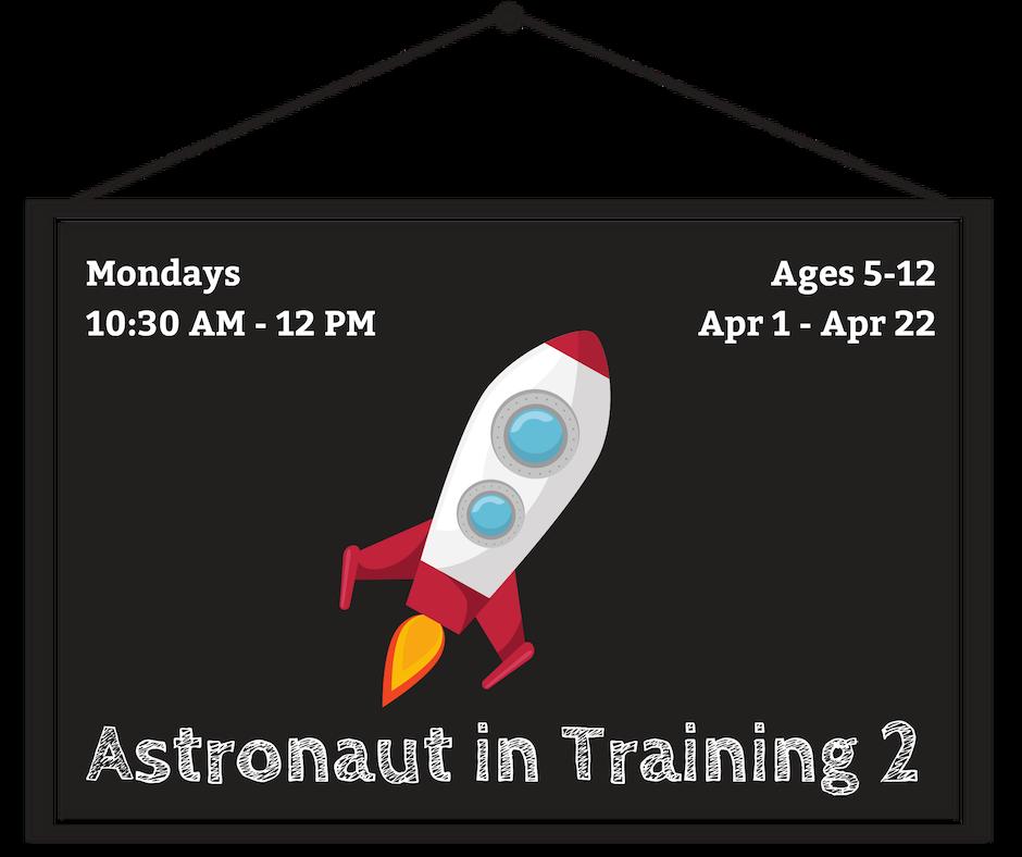 Astronaut in Training 2