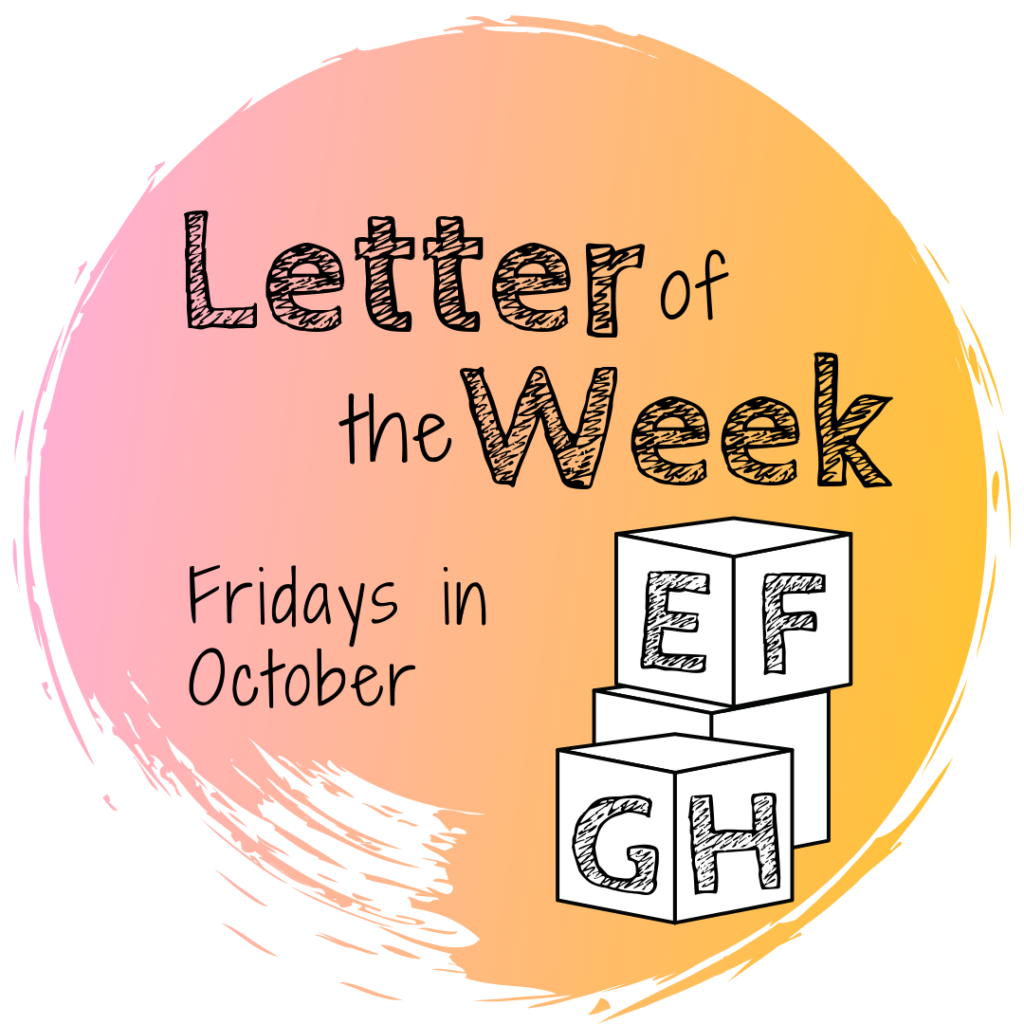 Letter of the Week – October