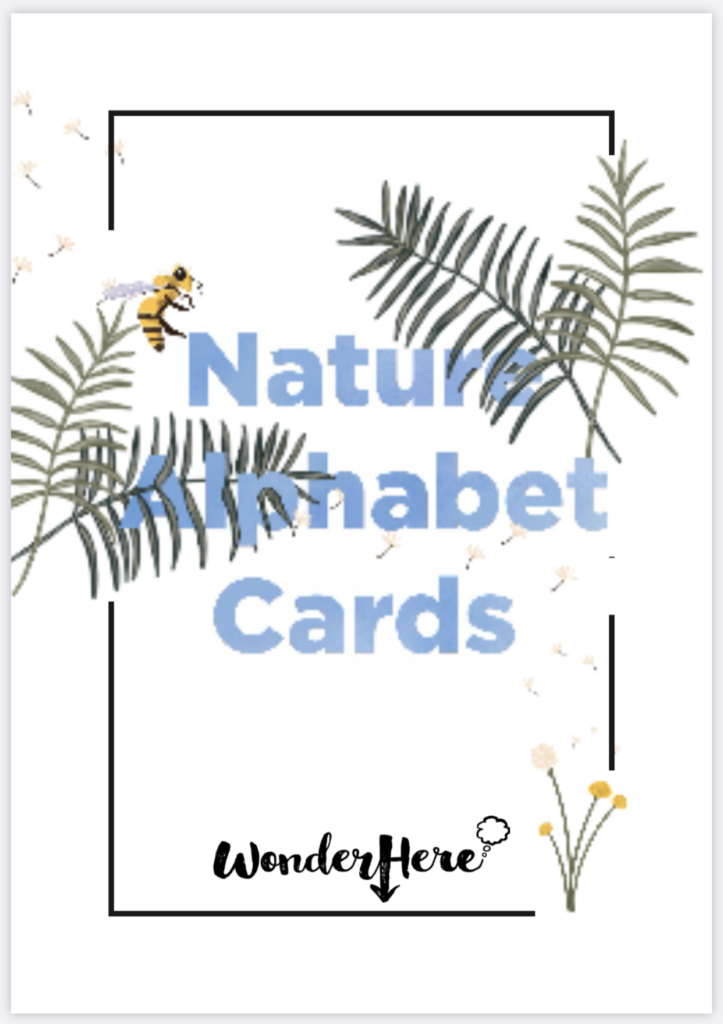 Alphabet Nature Cards